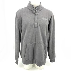 The north face Men Pull over Sweatshirt